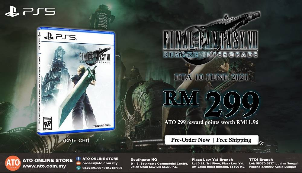 FINAL FANTASY 7 REMAKE INTEGRADE FOR PS5 (R3)