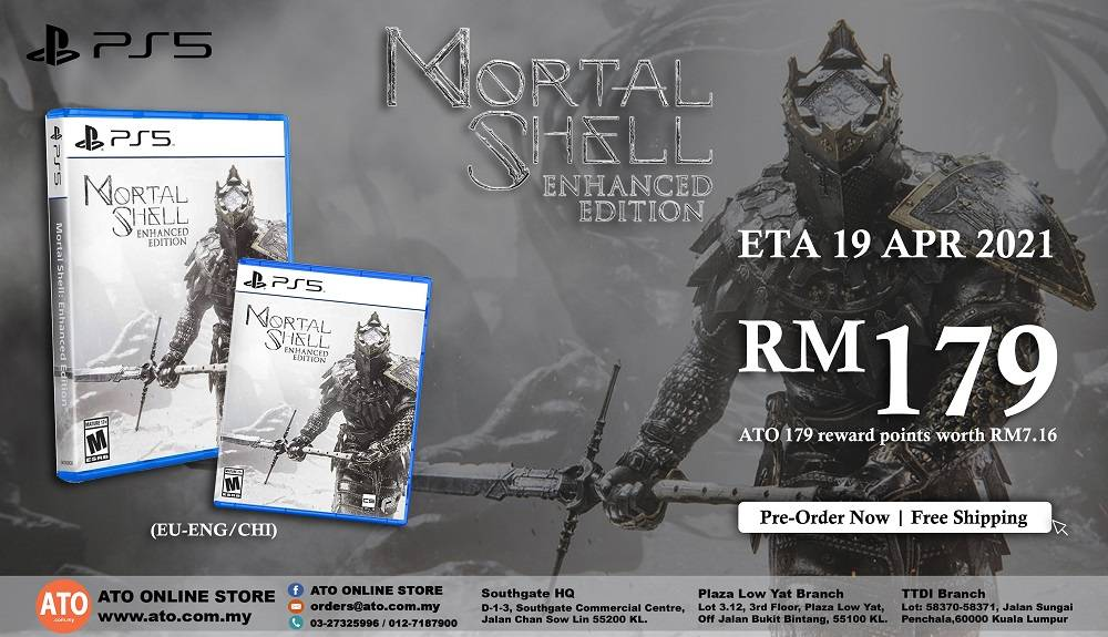 MORTAL SHELL ENHANCED EDITION FOR PS5