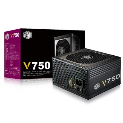 Cooler Master V Gold 750W Full Modular Power Supply (5 YEARS WARRANTY)