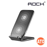 Rock W3 Dual-coil Wireless Charging Stand