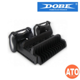 DOBE Multifunctional Cooling Stand with Dualshock Charging Station for PS4