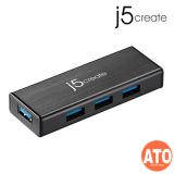 J5 JUH340-IO USB USB 3.0 4-PORT MINI HUB W/O AC POWER ADAPTER