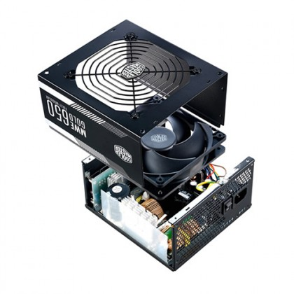 COOLER MASTER MWE GOLD 650 FULLY MODULAR POWER SUPPLY (5-YEARS WARRANTY)