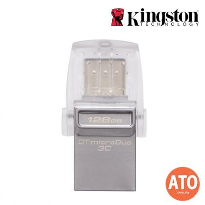 KIGNSTON DT MICRODUO 3C TYPE C USB3.1 (128GB)