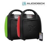 Audiobox Boombox BBX 300 Portable Speaker (Red Green)