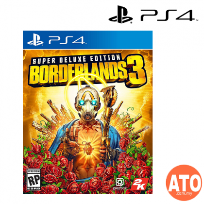 Borderlands 3 for PS4 Super Deluxe Edition (ASIA) ENG/CHI