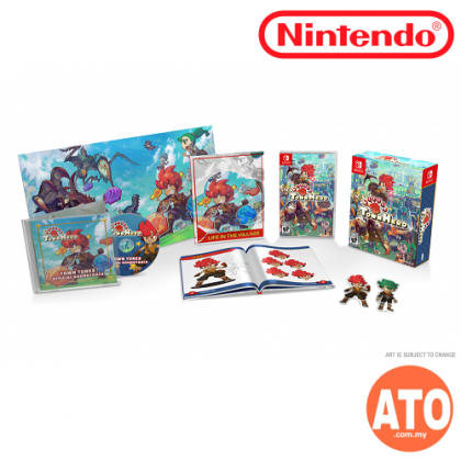 **PRE-ORDER** LITTLE TOWN HERO BIG IDEA EDITION FOR NINTENDO SWITCH(US-ENG)**ETA JUNE 30