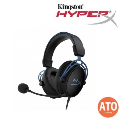 HyperX Cloud Alpha S Gaming Headset (Black / Blue)