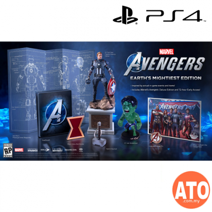 Marvel's Avengers (ENG) for PS4-Standard | Deluxe | Mightiest Edition