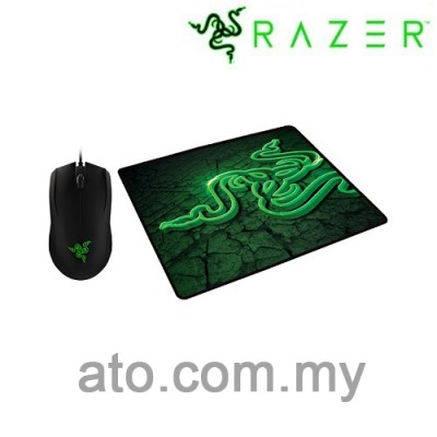 Razer Abyssus 2000 DPI Bundle with Razer Fissure Mouse Mat