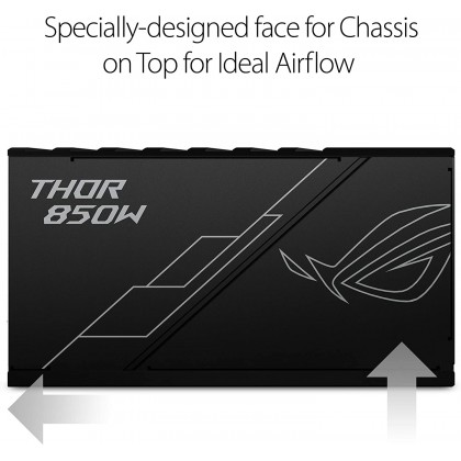 ASUS ROG Thor 850W Platinum Power Supply Unit stands out with Aura Sync and an OLED display- 10 years warranty