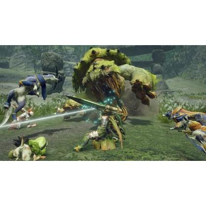 Monster Hunter Rise 魔物獵人 崛起 for Nintendo Switch (港版 - 支持中/英字幕)