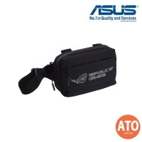 ASUS ROG Ranger BC1001 Waist Pack multi-style waist pack, featuring water-repellent exterior, waterproof zip, reflective logo and three compartments for easy organization.