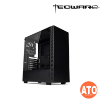 Tecware Nexus C TG ATX Gaming Case - Black | White