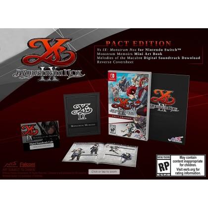 **PRE-ORDER**Ys IX: Monstrum Nox Pact Edition for Nintendo Switch (US-ENG)**ETA Q1 2021