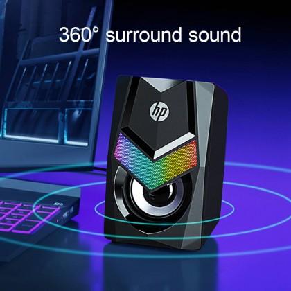 HP DHE-6000 RGB LED Stereo Speaker
