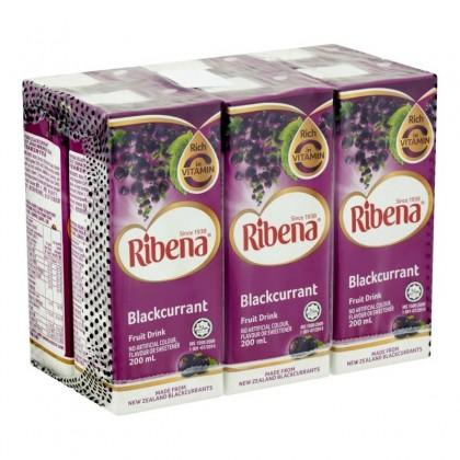 Ribena Combi Regular (200ml x 6 Packs) Expiry Date: Oct 2021