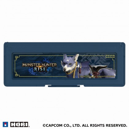 Hori Card Case (6 Card Slot) + Micro SD 128GB [Monster Hunter Rise - Garuku]