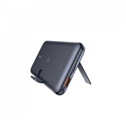 Aukey PB-WL02 18W PD QC 3.0 10000mAh Power Bank With Foldable Stand & Wireless Charging