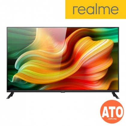 "Realme Smart TV 43"" Frameless Chroma Enhancement Screen 24W Dolby Audio 4 Speakers Andriod TV *1 Year Warranty*"