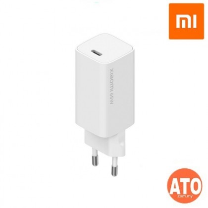 XIAOMI Mi 65W Fast Charger AD65GEU With GaN Tech Travel Adapter Support Type-C Notebook Charging