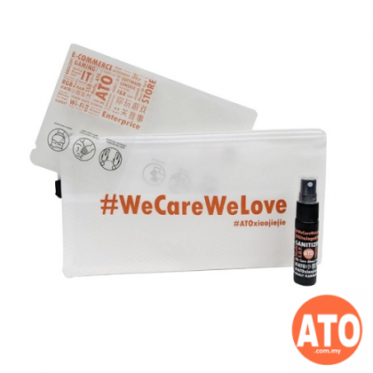 We Care We Love Disinfectant Kit