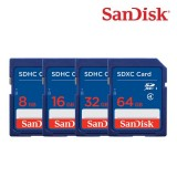 SanDisk SDSDB SDHC/SDXC (Class 4) Memory Card (1 Yr-Warranty)