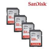 SanDisk SDSDUNC Ultra SDHC-SDXC USH-I Class 10 Memory Card